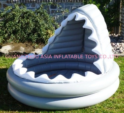 Shark Shape Kids Inflatable Pool For Water Games