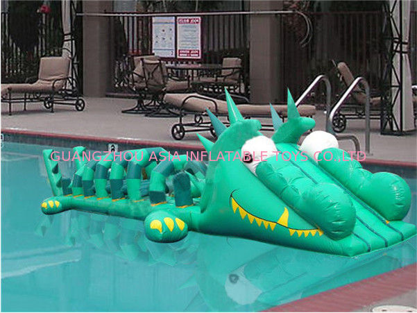 Commercial Use Inflatable Pool Slide, Inflatable Water Sports For Kids supplier