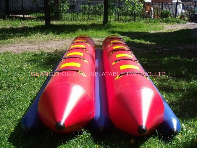 Inflatable Dual Tube Banana Boat, Inflatable Tube Boat For Water Sports