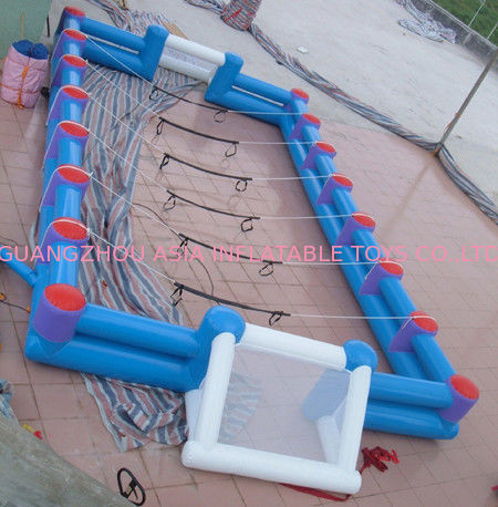 Safe Giant Soccer Field Inflatable Football Playground Indoor / Inflatable Soccer Field supplier