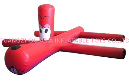 Red Inflatable Water Sports Inflatable Water Toys For Water Park Pool Toys