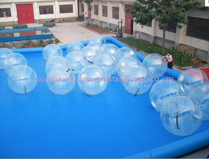 2m Diameter Transparent Aqua Water Ball for Kids Inflatable Pool Play supplier