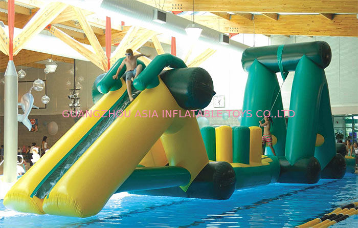 Swimming Pool Sports Inflatable Indoor Obstacle Course For Children