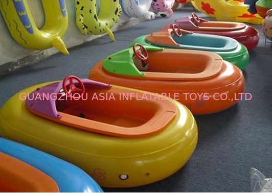 Plastic Inflatable Paddle Boats For Kids Pool Bear 100kg