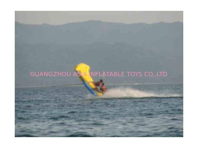 Lake Towable Inflatables Flying Fish Boat Tube for Outdoor Acctivity supplier