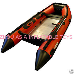 Inflatable Sports Boat Play On Water Park,  On the Pool ,  On the Ocean , On the Lake supplier