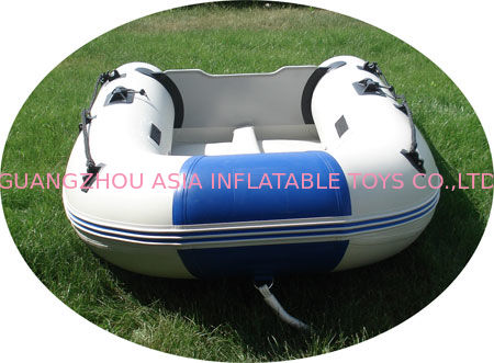 Sun Seeking and Exploring the Area Inflatable Sports Boat / 0.6 / 0.9mm PVC Tarpaulin supplier