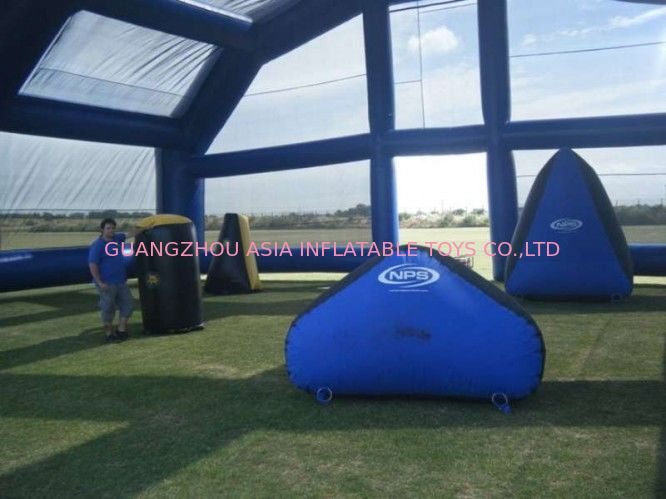 Water Proof Inflatable Paintball Arena ARENA07 with Durable Anchor Rings supplier