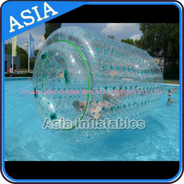 Inflatable Aqua Roller Games For Outdoor Summer Water Entertainment supplier