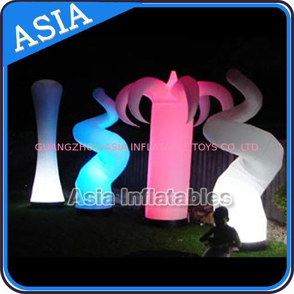 Oxford Fabric LED Light Inflatable Horn Decorations supplier