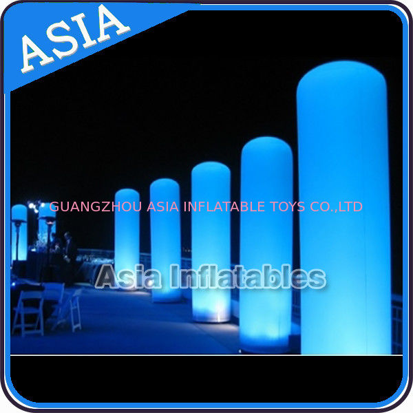 LED Inflatable Pillar Lighting Decoration, Inflatable Light Column supplier