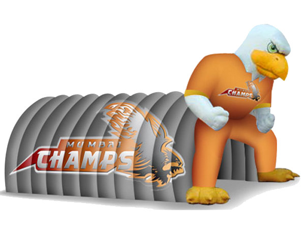 Fantasy Inflatable Entrance Tunnel With Eagle Mascot For