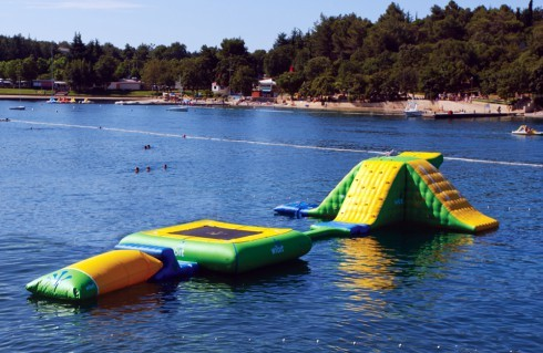 Floating Small Wibit Water Park Station Inflatables