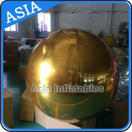 Decoration PVC Material Inflatable Mirror Balloon Colorful Mirror Display