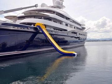 Inflatable Water Slide, Inflatable Cruiser Slide For Yacht games