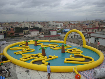 Circular Inflatable Race Track for Zorb Ball Play
