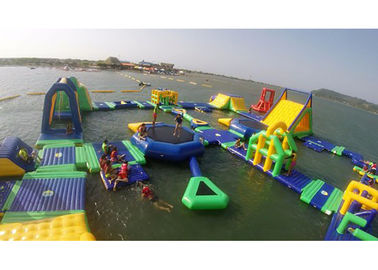 0.9mm PVC Inflatable Water Parks , Blow Up Water Slide For Adults