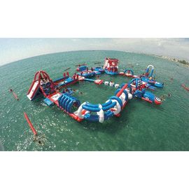 Commercial Grade Inflatable Water Park With 3 Years Warranty