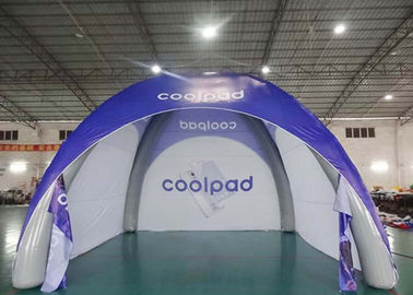 Multi - Color Advertisement Inflatable Event Tent / Spider Dome Tent