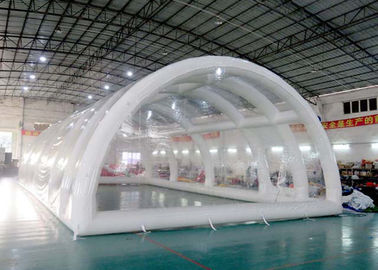 High Grade Warranty Inflatable Building Structures , Clear Inflatable Tent