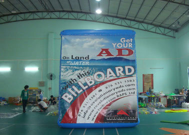 Water Billboard / outdoor Inflatable Advertising Billboard , Floating Billboard