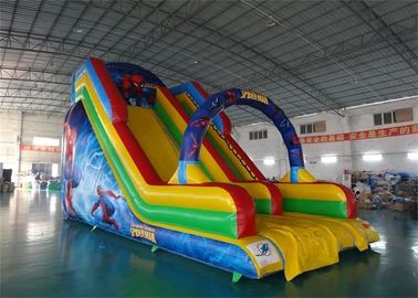 Inflatable Water Slide With Arches For Water Park Amusement Games