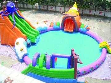 High Quality PVC Tarpaulin Strong and Durable Inflatable Octopus Water Park On Sale