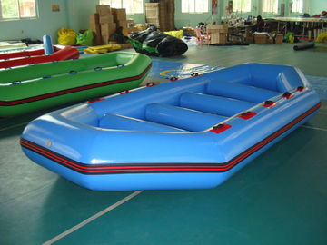 3.2m Long PVC tarpaulin Blue Color Inflatable Boat for 8 Persons