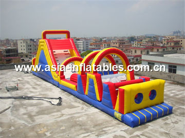19ml Inflatable Obstacle Courses Games For Children Park Games