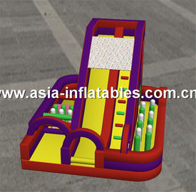 Outdoor Playground,  Inflatable Obstacle Chanllenges Game For Kids