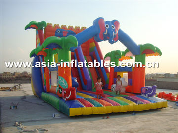 Hot Rental Inflatable Slide With Archway For Kids Entertainment