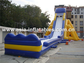 Giant Inflatable Water Slide For Aqutic Park In Summer