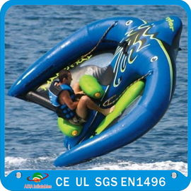 Towable Inflatable Manta Ray Fish Boat, Inflatable Water Park Games