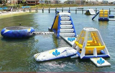 Giant Ocean Play Inflatable Water Park For Water Sports