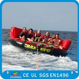Inflatable Water Crazy Sofa , Towable Inflatables 6mL x 6mW x 3.6m