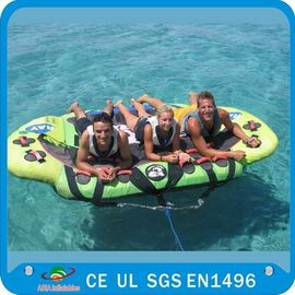 Inflatable Water Ski Tubes , Towable Inflatables PVC Tube Boat CE Certificated