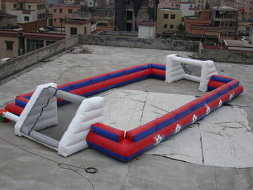 China Supplier Inflatable Sports Football Pitch Without Floor Sheet , Inflatable Soccer Field