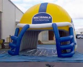 NFL Helmet Entrance, Inflatable Sports Event Decoration Entrance