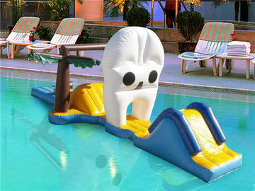 Water Floating Sports Equipment, Inflatable Water Slide For Pool Games