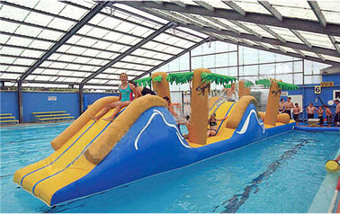 Inflatable Obstacle Challenge Course, Inflatable Water Sports For Adults