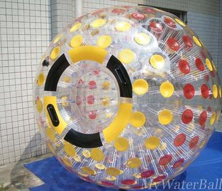 Color Dots Human Hamster Balls Zorb Ball For Adults with One Entrance