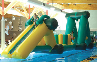 Swimming Pool Sports, Inflatable Indoor Obstacle Course For Children