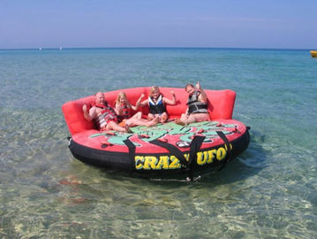 Crazy Ufo Inflatable Towable Sport Games Water Sports For Adults And Child