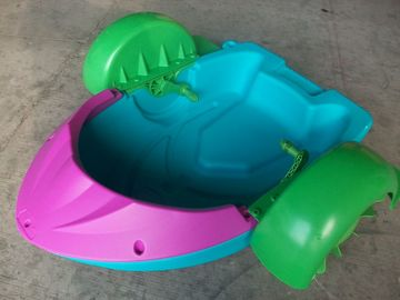 Portable Mini Paddle Boats for Kids Inflatable Pool