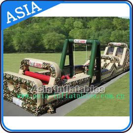 Boot camp inflatable obstacle challenges course