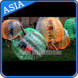 Custom Mult Color 1.0mm Pvc / Tpu Inflatable Knocker Ball For Football Competition