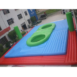 Inflatable Waterproof and Fireproof Bossaball Filed Sport Games Price
