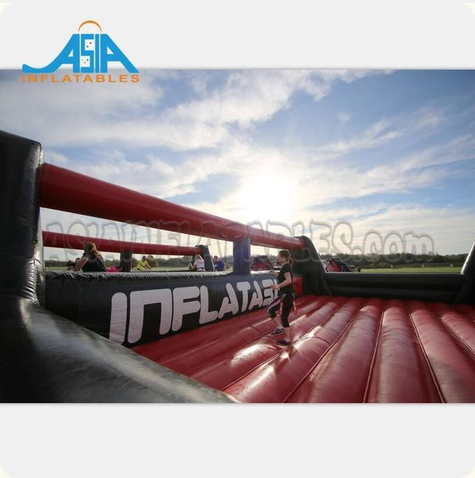 72M Long Interactive Inflatable 5k Obstacle Course / Insane Inflatable Fun Run